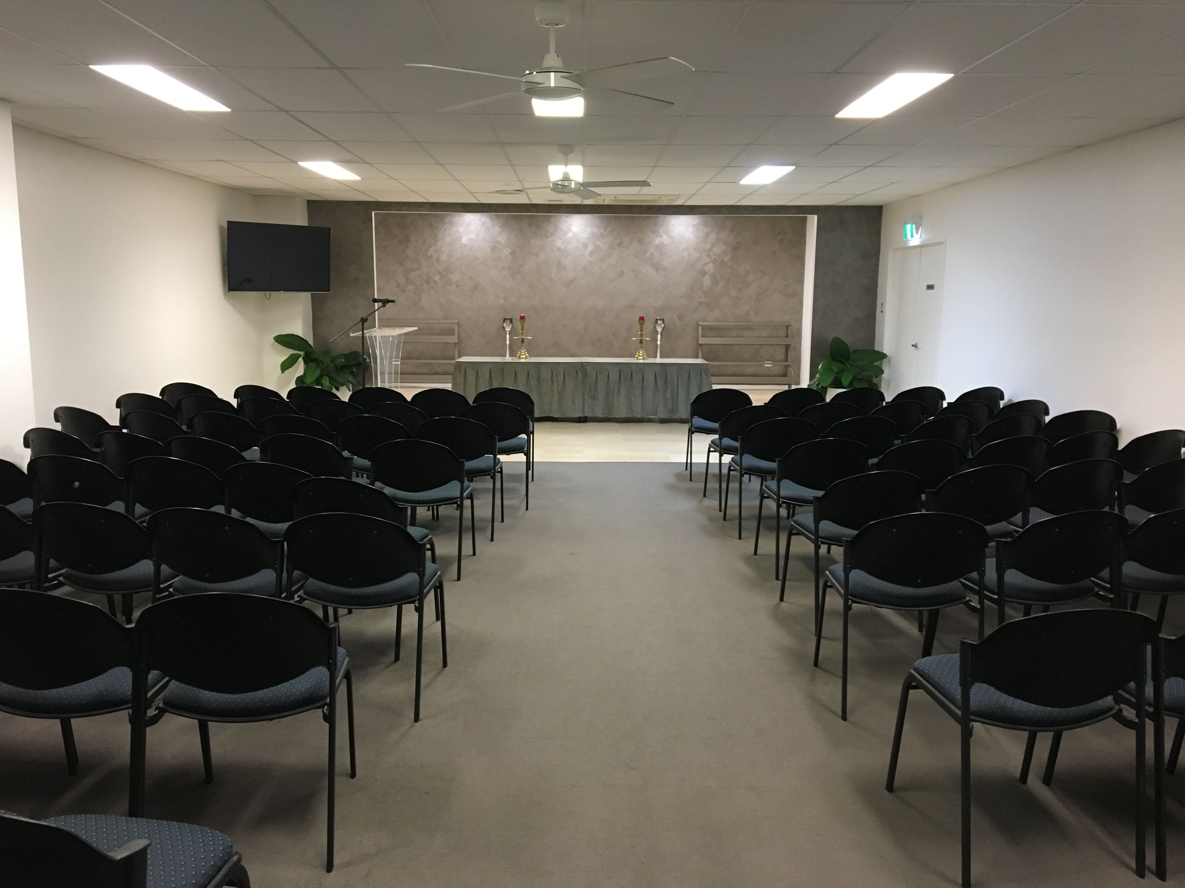Image of MH Funerals service room