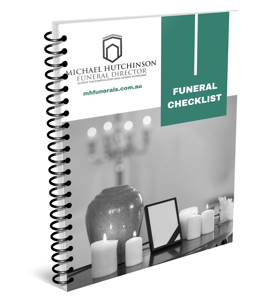 Image of Cover page for Preparing for Funeral Checklist