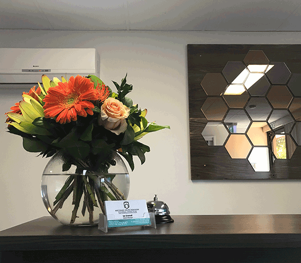Reception-desk-of-Brisbane-Funeral-Directors-MH-Funerals